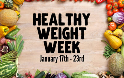 Healthy Weight Week – Your Launching Pad to a Healthier, Fitter 2021!